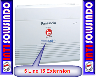 pabx panasonic 3 line 8 extension